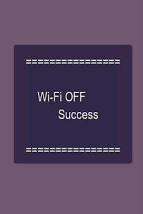 WiFi On/Off Toggle switcher - screenshot thumbnail