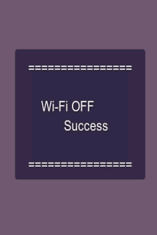 WiFi On/Off Toggle switcher - screenshot