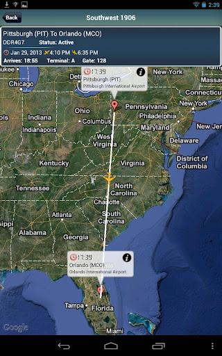 Orlando Airport + Radar MCO