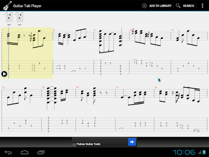 Guitar Tab Player - Android Apps on Google Play
