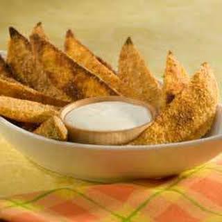 Parmesan-crusted Sweet Potato Fries.