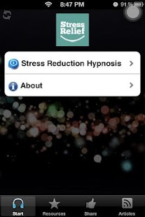 Natural Stress Relief Hypnosis
