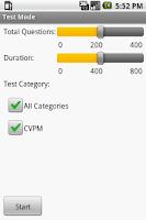 Screenshot of CVPM Veterinary Exam Prep