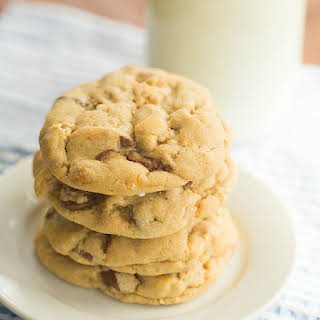 Salted Peanut Cup Chocolate Chip Cookies.