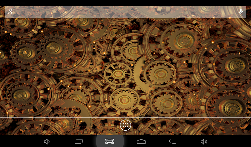 Golden Gears 2 Live Wallpaper Apps for Android screenshot