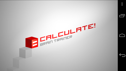 Calculate Brain trainer