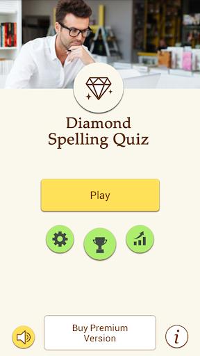 Diamond Spelling Quiz English