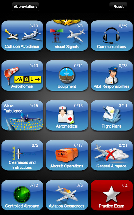 PSTAR Exam - Transport Canada. Pilot Flight Quiz- screenshot