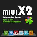 MIUI X2 Go/Apex/ADW Theme PRO logo