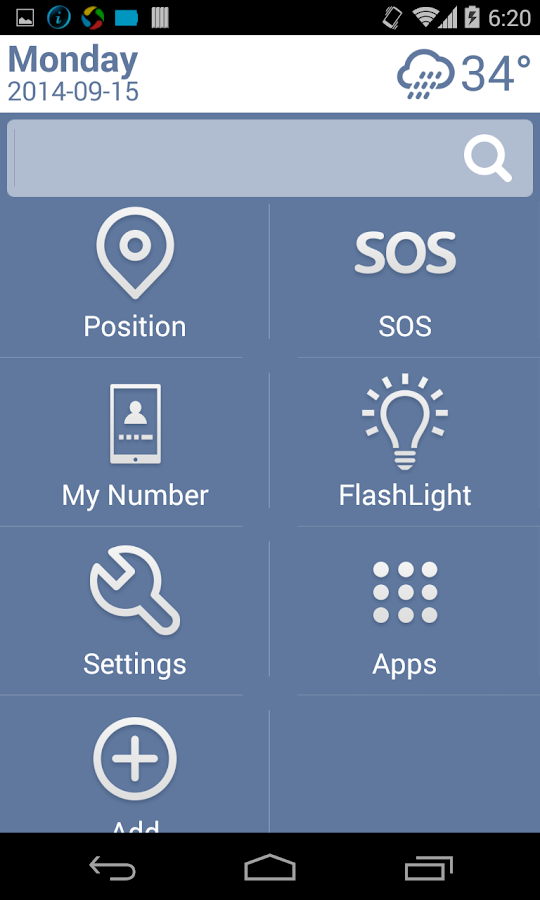 Necta Launcher(for senior)- screenshot