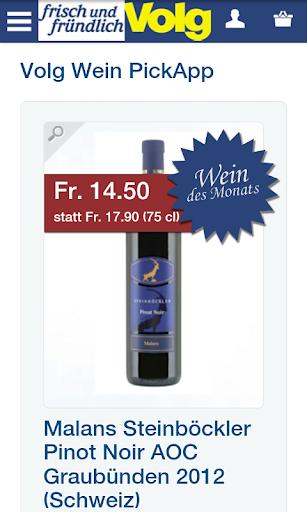 Volg Wein PickApp