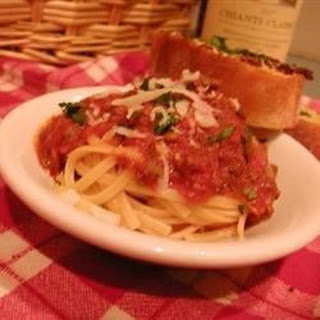 Bolognese Sauce with Meat