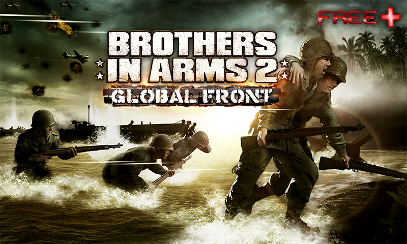 Brothers In Arms 2: Global Front HD [v3.1.0 - 3.1.9 ] [ENG] [Игры для Android]