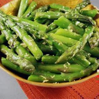 Lemon Zest Asparagus