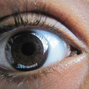 Eye by IS Photography - People Body Parts ( face, body, eyelashes, brown, eye )
