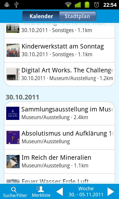 Kultur in Karlsruhe- screenshot