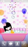 Screenshot of Bubble Bath Live Wallpaper