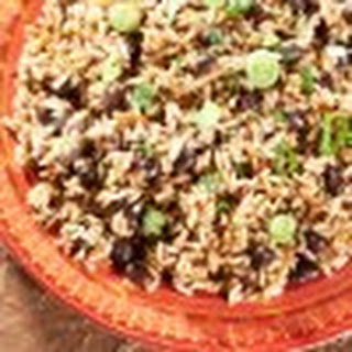 Yellow Rice and Black Bean Salad