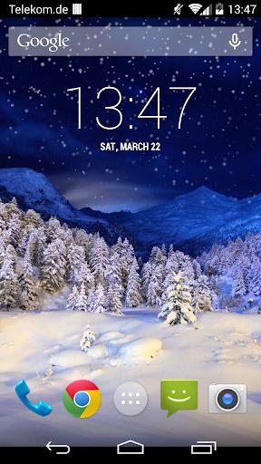 Falling Snow Free LWP