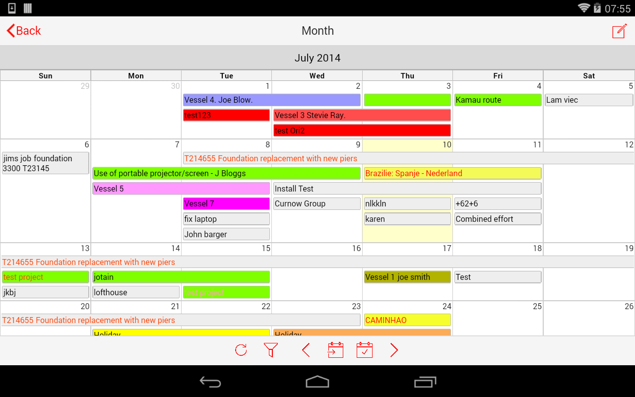 Calendar Planner Scheduling : Staff employee scheduling android apps on google play
