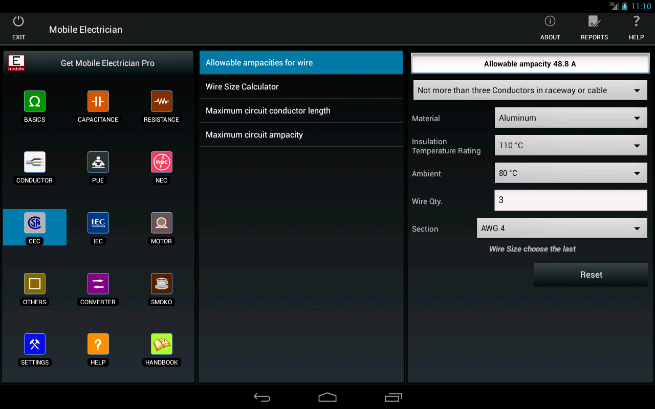 Mobile electrician- screenshot