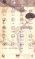 Screenshot of Sin YoonBok waiting dodol