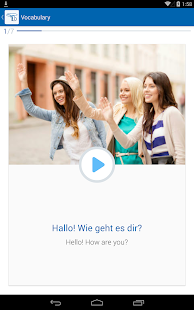 Learn German with busuu - screenshot thumbnail