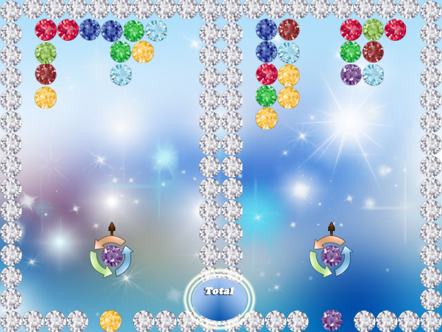 Diamond Gems Shooter - screenshot
