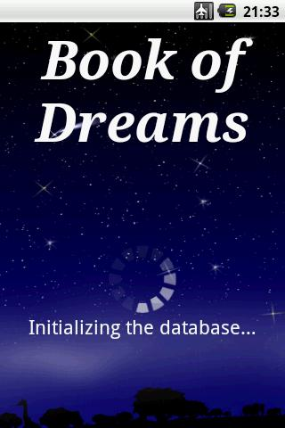 Book of Dreams (dictionary) - screenshot