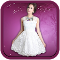 Woman Wedding Photo Suit icon