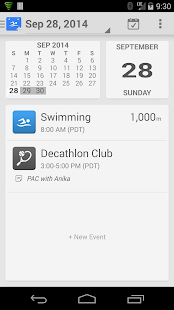 SwimWiz Fitness Log - screenshot thumbnail