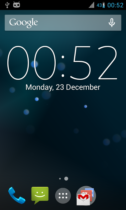 Digital Clock Widget Xperia - screenshot