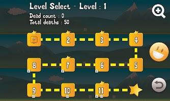 Screenshot of Tap 'n' Crash