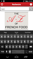 Screenshot of THE A-Z of French Food
