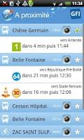 Screenshot of Tout Rennes Bouge