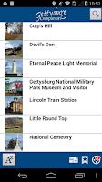 Screenshot of Gettysburg Companion