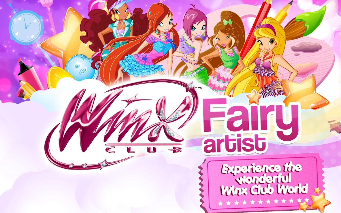 Winx –Club Fairy Artist!- screenshot