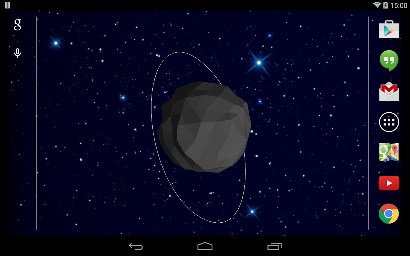 Asteroid live wallpaper - Android Apps on Google Play