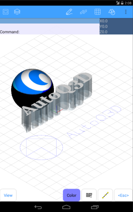 AutoQ3D CAD- screenshot