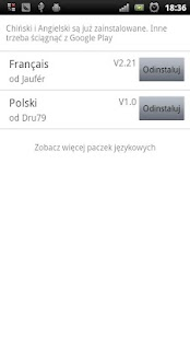 Easy SMS Polish Language screenshot