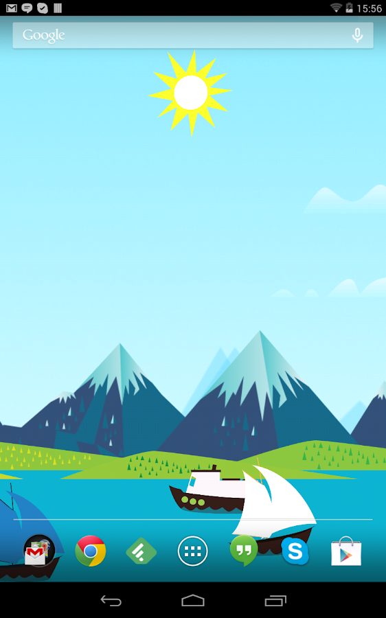 Mountains Now Free Wallpaper - screenshot