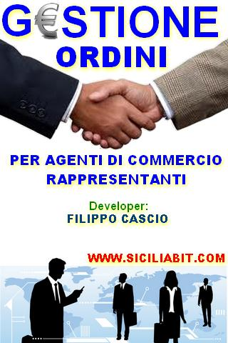gestione agente di commercio - screenshot