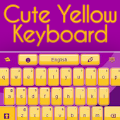 Cute Yellow Keyboard