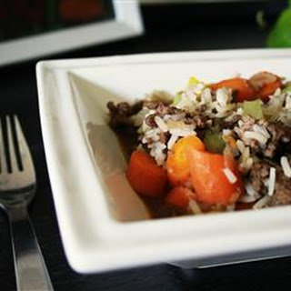 Hamburger Rice Skillet