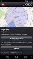 Screenshot of Audi insight
