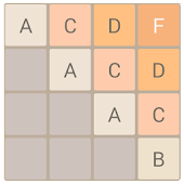 A to Z Letter Puzzle (2048)