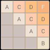 2048 Alphabet (A to Z)