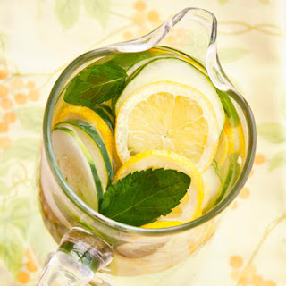 Lemon Mint Cucumber Water (aka Detox Water)