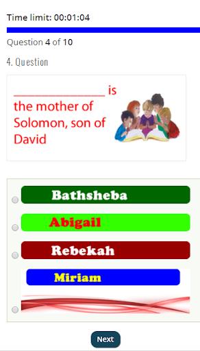 NIGERIAN CHRISTIAN BIBLE QUIZ