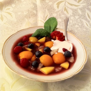 chilled raspberry blueberry gazpacho food52 fresh blueberries fresh ...